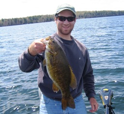 Smallmouth bass fishing musky mastery guide service